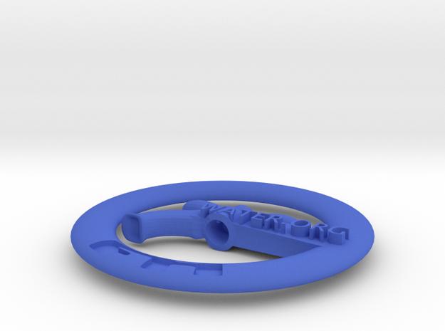 Water Faucet Pendant in Blue Processed Versatile Plastic