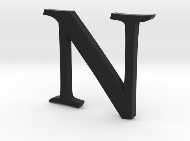 N (letters series) 3d printed