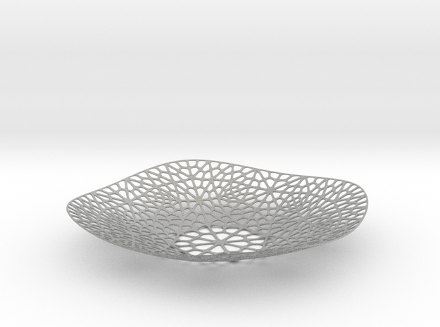 Lace Plate 3d printed