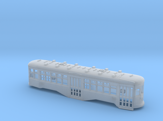 HO Scale B&QT 8000-series Body Shell in Smooth Fine Detail Plastic