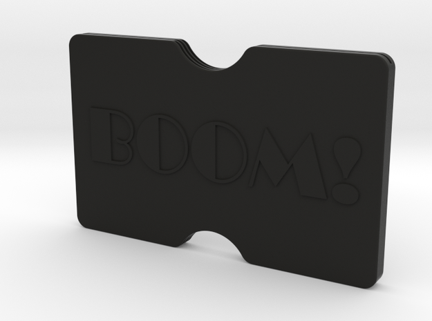 Custom Slimline 3 Card Wallet 3d printed