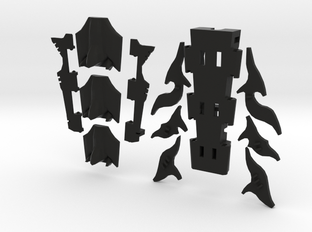TFP Voyager Beast king Tail-Shield  3d printed