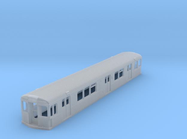 N SEPTA Kawasaki BIV Subway Single-End Body Shell in Smooth Fine Detail Plastic