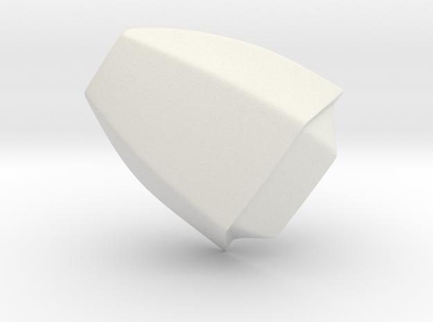 Iron Man mkIII - Thumb-tip in White Natural Versatile Plastic