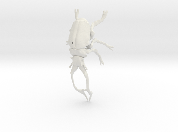 Stag Beetle small with pinhole 3d printed
