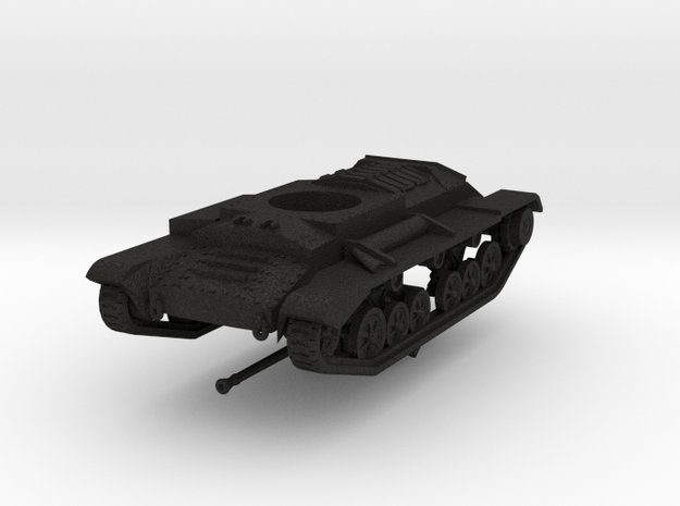 Vehicle- Valentine Tank MkXI (1/72) 3d printed