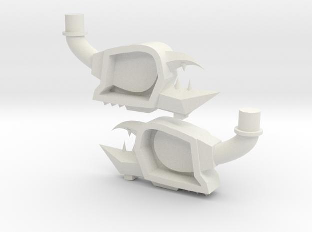 naut-claw in White Natural Versatile Plastic