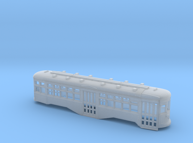 TT 1:120 Scale B&QT 8000-Series Trolley Shell 3d printed