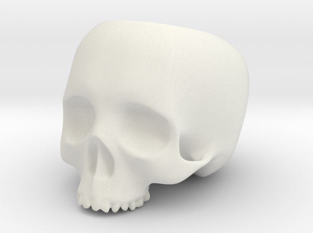 Skull Pot V1 - H100MM 3d printed