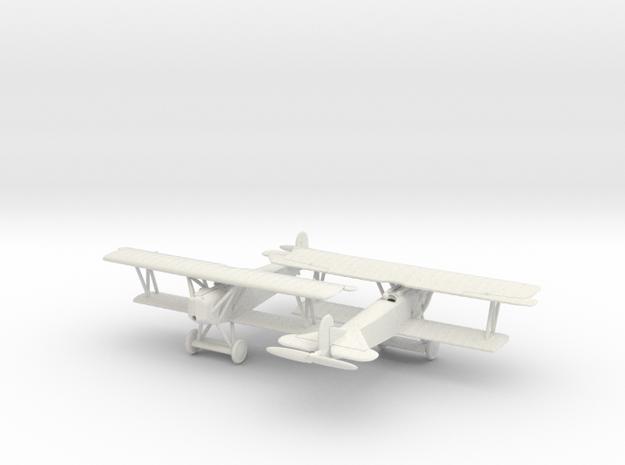1/144 Fokker D VII x2 in White Natural Versatile Plastic