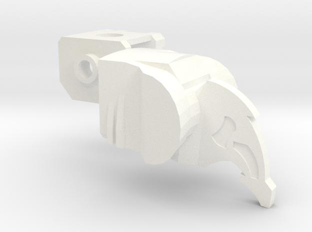 Fin Head Upgrade Set 3d printed