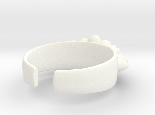 Dino Eggs Ring 3d printed