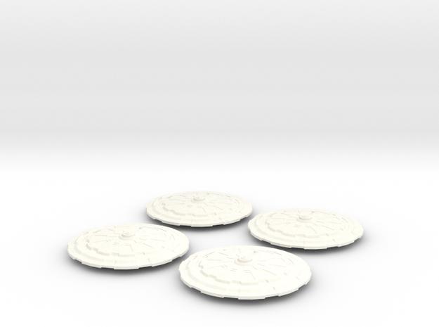 Saucer Pack (McKnight Class) 3d printed