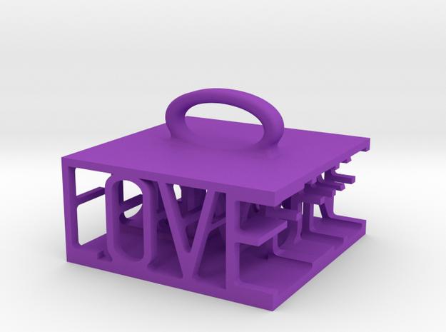 love and fun 3d printed