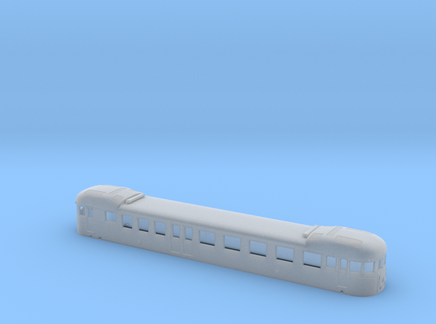 Decauville Autorail - DXW Nm 1:160 3d printed