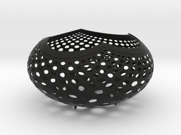 """""""A la Vasarely"""" Bowl (20 cm) 3d printed"""