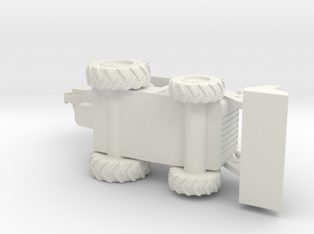 Backhoe Loader N Scale 3d printed