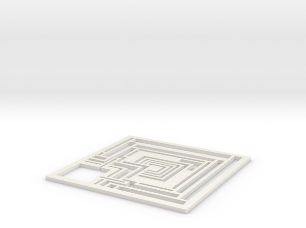 Wright Modern Coaster: Ennis 3d printed