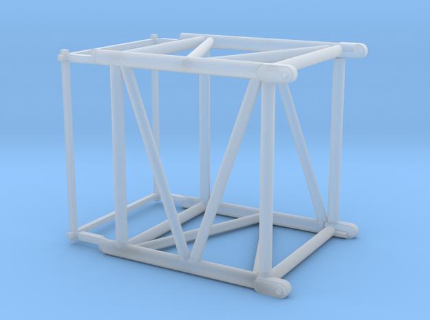 HO/1:87 Crane boom segment extra short 27.5x32.5 in Smooth Fine Detail Plastic