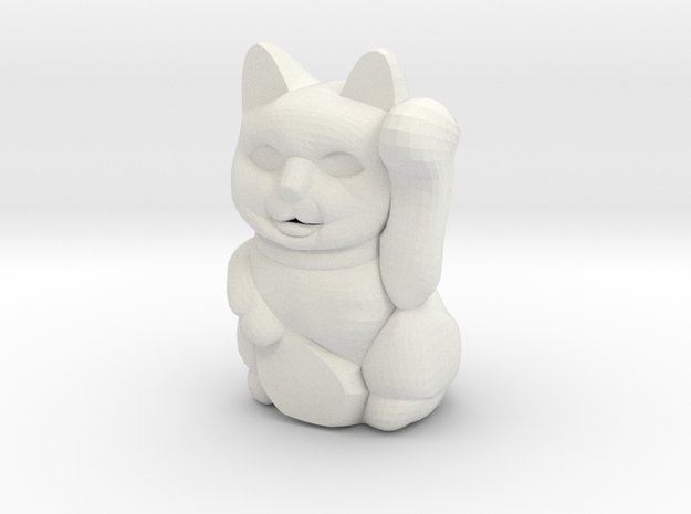 Moneycat in White Strong & Flexible