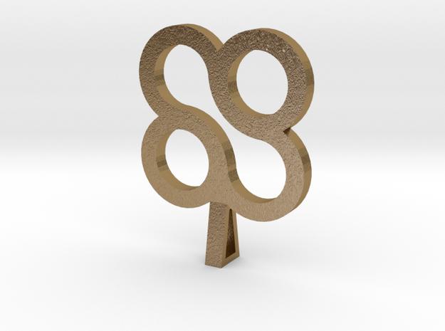 Forever Design Necklace 3d printed