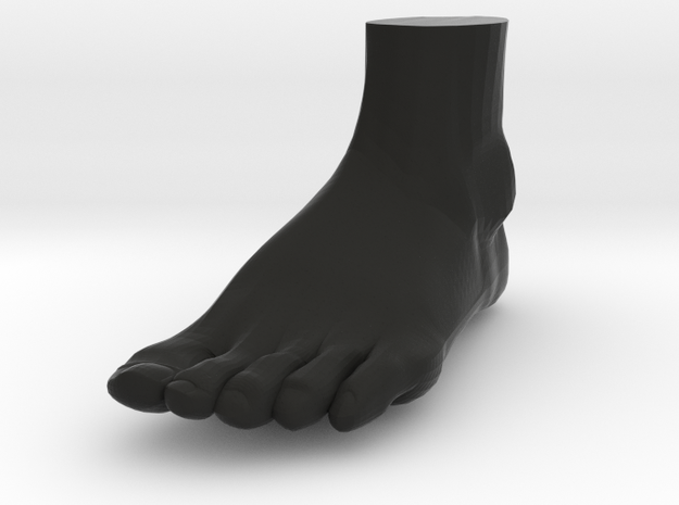 "Life Size Foot - 8.7"" - Solid 3d printed"