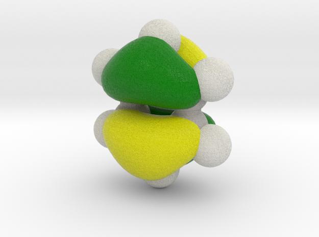 Highest (degenerate) energy occupied pi-MO (HOMO) 3d printed