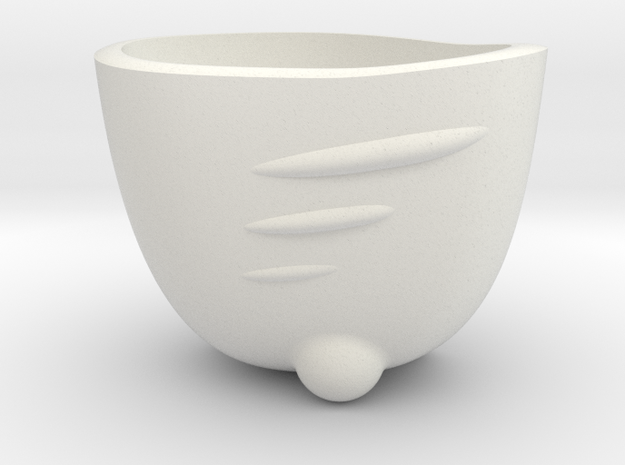 Espresso Shot SpaceShip Cup (no frame) 3d printed