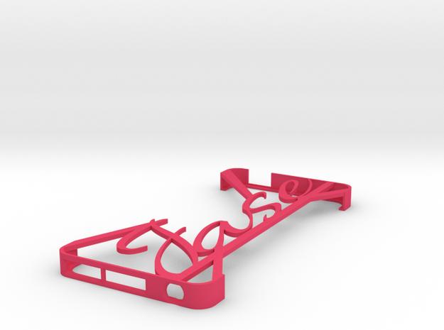 Ipod Touch 5th Gen Minimalist Custom Case - Jase 3d printed