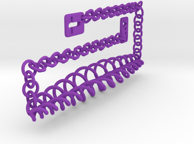Twist of Fate Chocker 3d printed