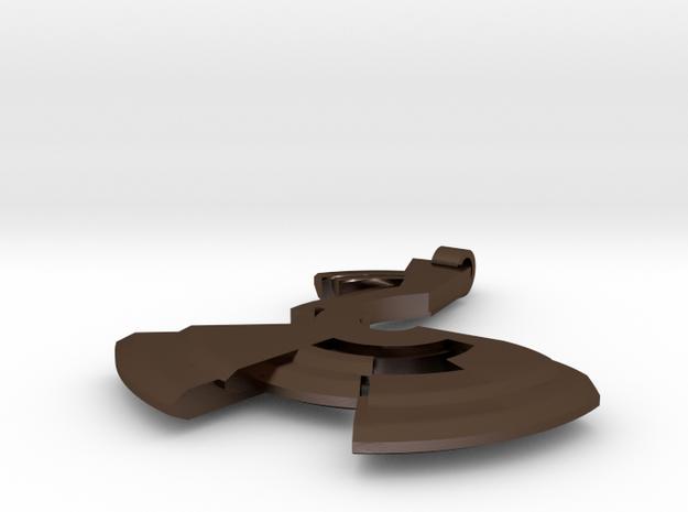 Avar - Big pendant 3d printed