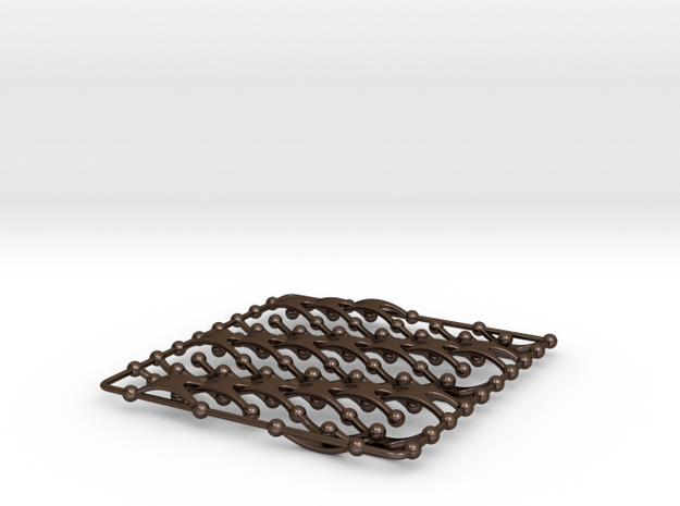 Chain Wave Tile 3d printed