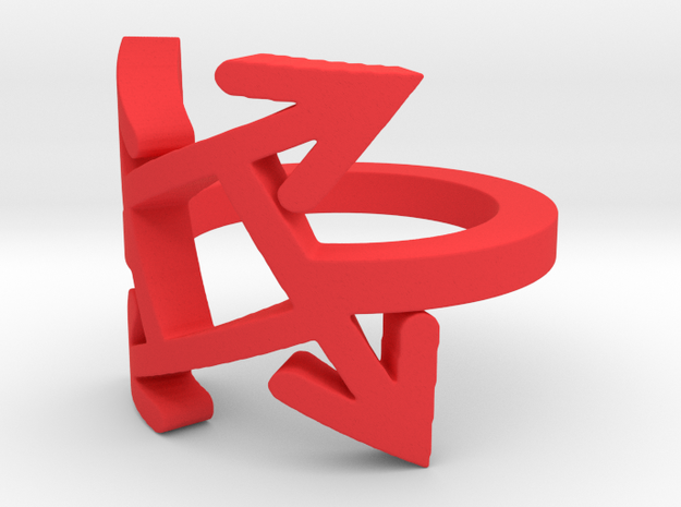 Which direction? Ring  3d printed