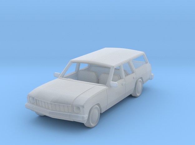 70s hx holden stationwagon 1:120 in Frosted Ultra Detail