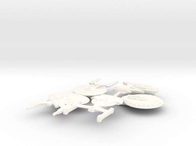 Fleet5 in White Processed Versatile Plastic