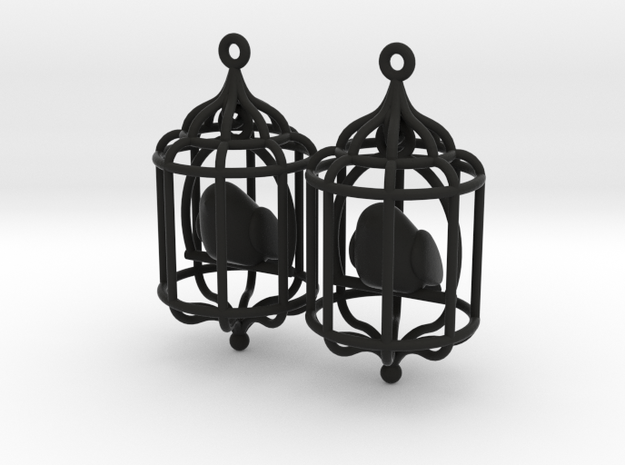 Bird in a Cage 02 3d printed