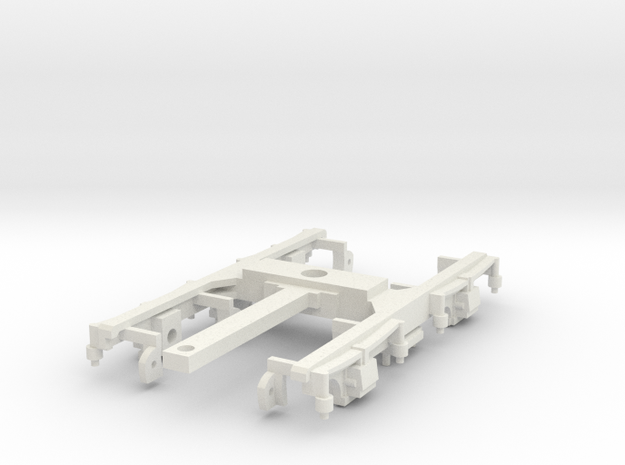 GNRi K1 M1 M2 K3 Bogie 00 scale in White Natural Versatile Plastic