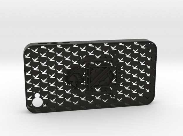 iPhone 4 Kentridge in Black Strong & Flexible