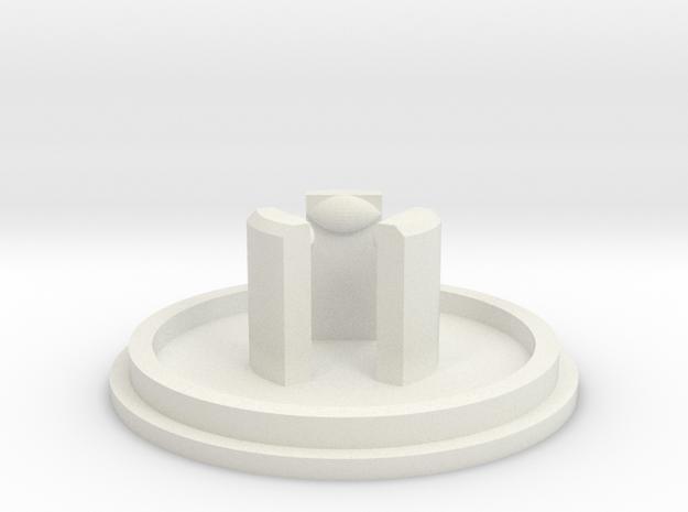 Link JLF U-Cap: LP ShelledFlange 3d printed