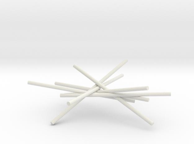 7cyl 5p30 X2 in White Natural Versatile Plastic