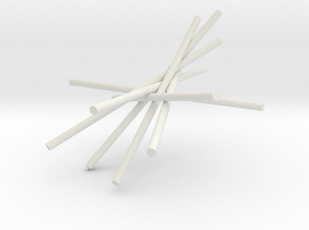 7cyl 5p30 II in White Natural Versatile Plastic