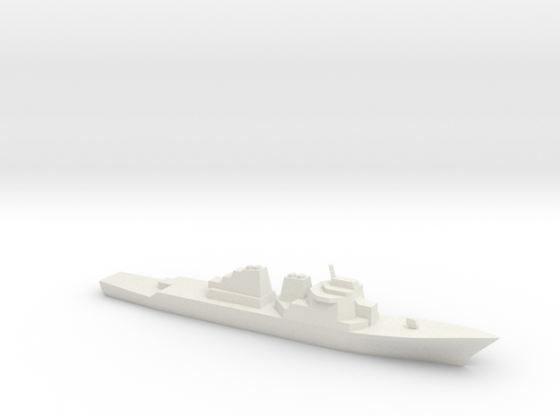 [USN] Arleigh Burke Class 1:1800 in White Natural Versatile Plastic