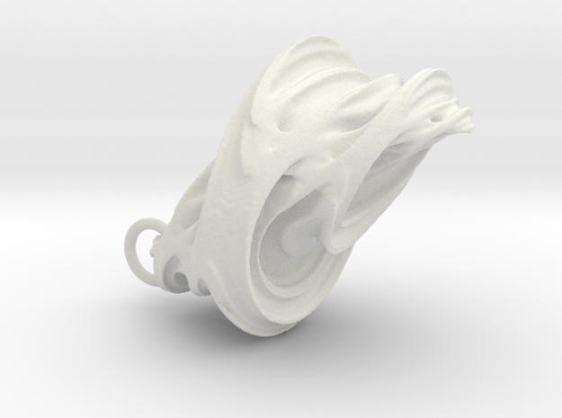 Quaternion Earrings 3d printed