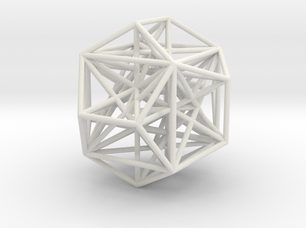 MorphoHedron9 in White Strong & Flexible