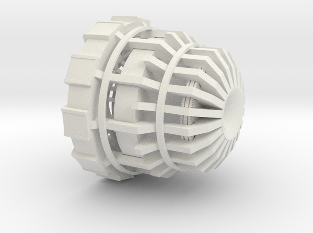 Arc Reactor Master in White Natural Versatile Plastic