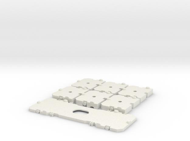 TC2800 Ballastplatten in White Natural Versatile Plastic