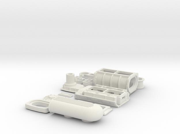 1 8 426 Hemi GMC Blower System 3d printed