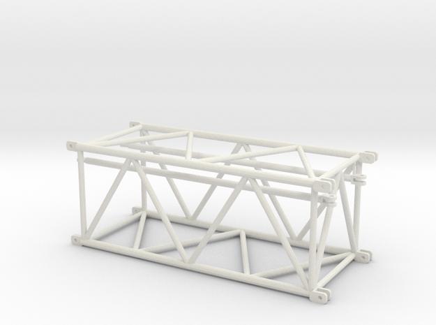 TC2800 Maststueck 6m in White Natural Versatile Plastic