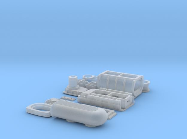 1 16 426 Hemi GMC Blower System 3d printed