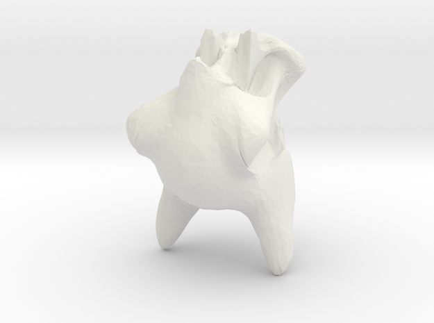 deszk (kutya fej) 3d printed